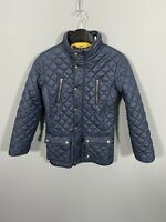 JOULES Quilted Jacket - Size Age 11-12 Years - Navy - Great Condition - Girl's