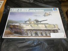 TRUMPETER 00364 1/35 BMP-3 MICV (EARLY VERSION) w/ EXTRAS PLASTIC MODEL KIT