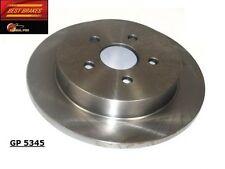 Best Brakes GP5345 Rear Brake Rotor