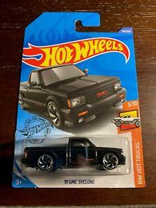 2020 Hot Wheels '91 GMC Syclone in Black