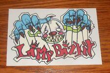 Limp Bizkit Clear Sticker Rectangle Promo (clown puppet) 6x4
