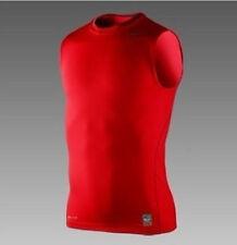 Mens Compression Base Layers Tight Tank Top Shirt Vest Sleeveless Sports T-Shrit