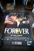 FOREVER 4x6 ft Bus Shelter Vintage Movie Poster Original 1998