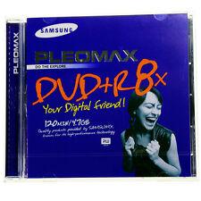SAMSUNG DVD+R  PLEOMAX  8X 120 MINUTOS 4.7 GB   -PACK 5 PZAS-CAJA ANCHA