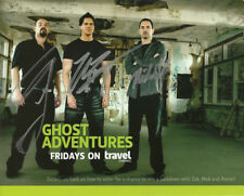 GHOST ADVENTURES GROUP CAST SIGNED PHOTO 8X10 RP AUTOGRAPHED ZAK BAGANS + ALL