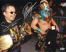 Ultimo Dragon Sonny Onoo Signed 11x14 Photo BAS Beckett COA WWE WCW Picture Auto
