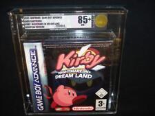 Kirby incubo nel mondo dei sogni Nintendo GBA livellata 85+ Rosso Striscia SIGILLATO VGA PAL