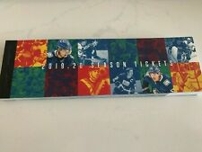 complete booklet season tickets 2019-20 Vancouver Canucks Montreal Canadiens