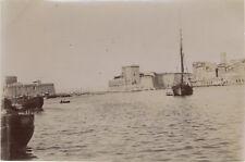 Marseille Vieux Port France Photo Snapshot Vintage Citrate 1896