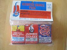 Fireworks Firecracker Vintage Old Bag of Magic Black Snakes Sfm Assorted Bag