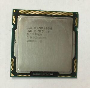 Intel Core i3-540 3.06GHz 512KB/4MB Cache Socket 1156 CPU Processor SLBTD