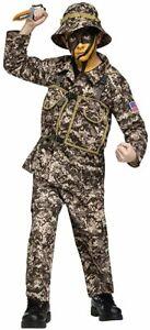 Desert Commando Camo Kids Costume
