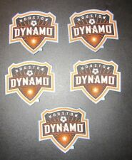 Lot of 5 Houston Dynamo Soccer Team Crest Pro-Weave MLS Futbol Patch