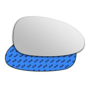 Right wing adhesive mirror glass for Daewoo Nubira J100 1999-2002 325RS