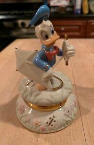 "Lenox Walt Disney Donald Duck ""Flying High With Donald"" trinket box"