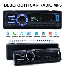 1 DIN MP3 Player Bluetooth Car Radio Stereo In Dash AUX IN USB SD Detachable