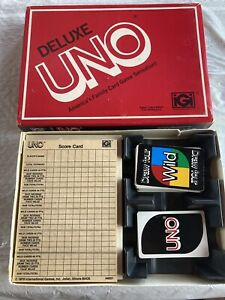 Vintage Brand New in Box UNO Card Game from 1978 Unopened