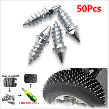 50x Winter Car Tire Spikes Studs Screw Snow Spikes Wheel Tyre Snow Chains Studs