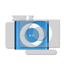 Skinomi FULL BODY Clear Skin Protector for Apple iPod Shuffle 4th Gen