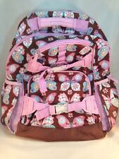 Pottery Barn Kids Mackenzie Brown And Pink Butterfly Backpack