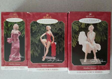 3 Marilyn Monroe Hallmark Keepsake Ornaments Collector'S Series 1997 1998 1999