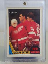 Adam Oates rc 1987-88 O'Pee-Chee #123