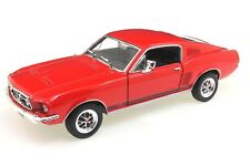 Welly 1:24 Ford Mustang GT 1967 rot Modellauto
