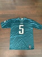 REEBOK PHILADELPHIA EAGLES DONAVAN MCNABB #5 NFL FOOTBALL JERSEY MENS XL