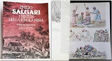 Emilio Salgari I MISTERI DELLA JUNGLA NERA Edizione annotata di Mario Spagnol