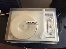 Vintage deJay Portable Record Player Tested/works, sp 275 with am fm & speakers
