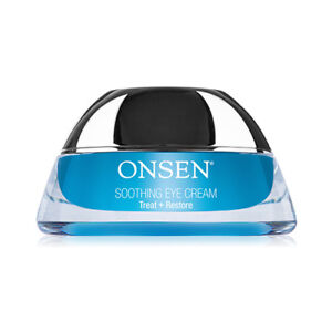 Onsen Soothing Eye Cream Anti Aging Eye Treatment for Wrinkle Firming, puffiness