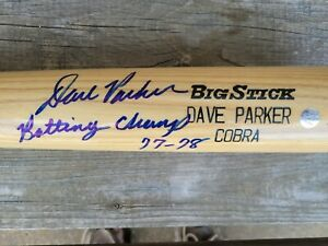 Dave Parker Autographed Rawlings Baseball Bat GTSM authenticated