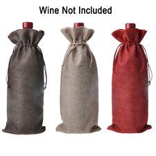 1 x Sac à vin mariage fête vacances cadeau emballage bouteille de POCHETTE NOËL