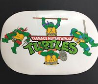 Rare Vintage 1989 TMNT TEENAGE MUTANT NINJA TURTLES Collectible Placemat MIRAGE