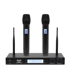 W Audio RM Twin UHF Wireless Handheld Radio Mic System