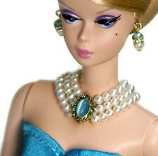 """Handmade doll jewelry set necklace earrings for 11.5/"""" doll 642A"""