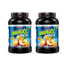 2X ALLMAX NUTRITION ISOFLEX CHILLER PURE WHEY PROTEIN ISOLATE SOURCE SUPPLEMENT