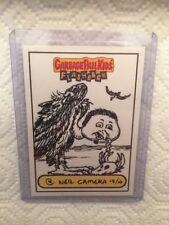 Garbage Pail Kids Gang FB2 Flashback series 2 Neil Camera sketch card Nm/M nice