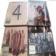 FOREIGNER - COMPLETE HYBRID SACD SET - 4, HEAD GAMES, DOUBLE VISION, SELF TITLED