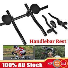 Bicycle TT Bar Triathlon Handlebar Arm Rest Bar MTB Bike Clip on Aero Handlebar
