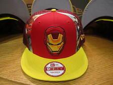 The Avengers Iron Man Slice Marvel Comics New Era Hat Snapback MED-LG NWT 0314