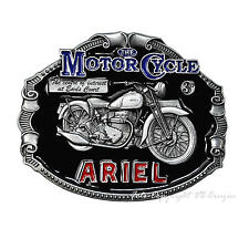 ARIEL Motorrad British Oldtimer Vintage Motorcycle Buckle Gürtelschnalle *071