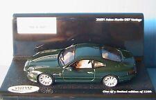 ASTON MARTIN DB7 VANTAGE VITESSE 20651 1/43 BRITISH CAR GREEN VERT VERDE GRUN