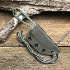 Custom Handmade OD Green Kydex Sheath For ESEE Izula Fixed Blade Knife