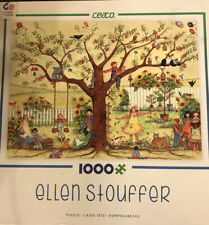 Ceaco 1000pc Ellen Stouffer Puzzle Growing Together 2014 Complete Colorful FreeS