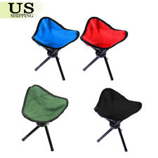 Portable Travel Slacker Chair Folding Stool Outdoor for Camping Fishing Hiking