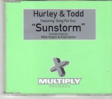 (EW757) Hurley & Todd Featuring Song For Guy, Sunstorm - 2000 CD