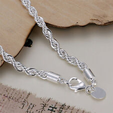 Charming Jewelry Women Fashion Silver Plated Chain Bracelet Elegent Lady
