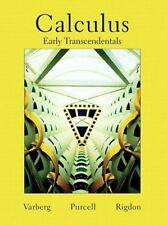 Calculus Early Transcendentals, Dale Varberg, Edwin J. Purcell, Steve E. Rigdon,