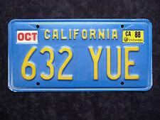 CALIFORNIA - USA Auto Kennzeichen - Sticker 1988 - Original - Top! 632YUE